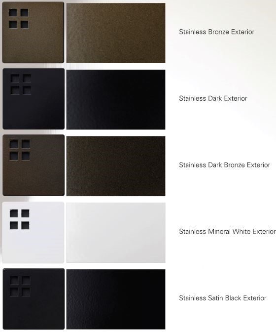 Kevin Reilly lighting exterior finishes