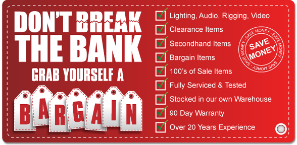 Dont Break the Bank, Grab Yourself a Bargain - Find out more...