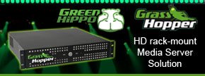Green Hippo Grasshopper Media Server - Find out more...