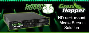 Green Hippo Grasshopper Media Server - Find out more...