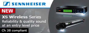 The NEW Sennheiser XS Wireless Systems - Find out more...