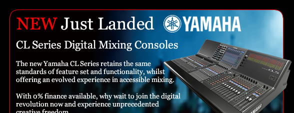 New Just Landed Yamaha CL Digital Mixing Console