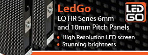 LedGo Video 6mm & 10mm panels - Find out more...
