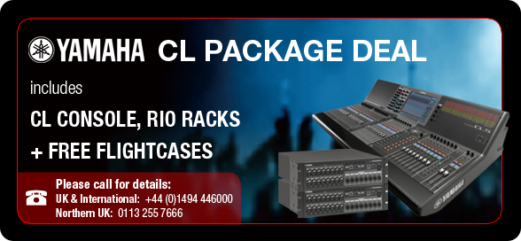 A.C. Audio Yamaha CL Package Deal - Call to find out more...