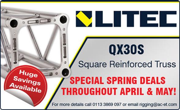 Litec QX30 Special Spring Deals
