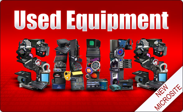 Used Equipment - click for the new microsite