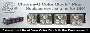 Chroma-Q Color Block Plus Replacement Engine for DB4 - Find out more