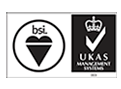 bsi & UKAS Accredited