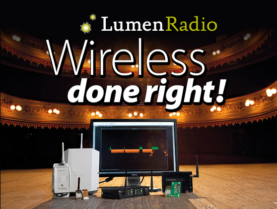 Lumen Radio Wireless done right!