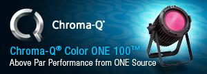 Chroma-Q Color One 100 LED Par - Click here for more details
