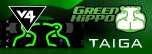Green Hippo - V4 Taiga