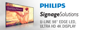 Philips U-Line 98inch Edge LED, Ultra HD 4K Display