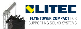 Litec Flyintower Compact for supporting sound systems