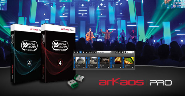ArKaos Pro Media Master Pro software