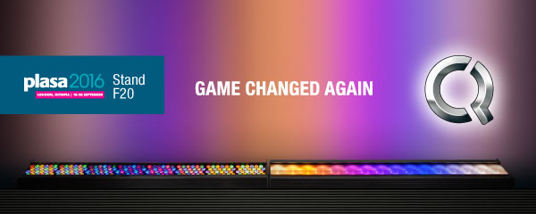 Chroma-Q Color Force II™ - Game Changed Again. At PLASA 2016 - Stand F20