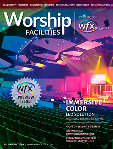 Worship Facilities Magazine Cover