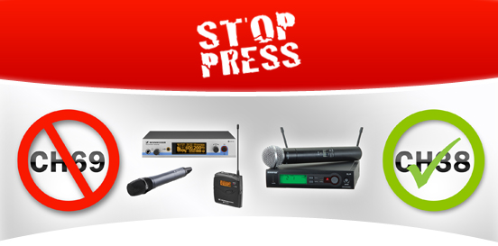 STOP PRESS - 2012 Wireless Switchover - Deadline Extended to 31st December 2012