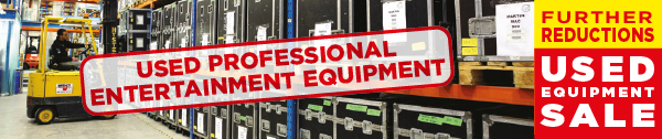 Used Equipment Sale - Further Reductions